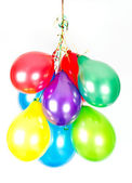 Colorful air balloons. party decoration — Stock Photo