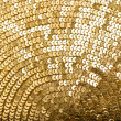 Royalty-Free Stock Photo: Abstract golden background. vibrant color