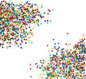 Bunte konfetti-hintergrund — Stockfoto