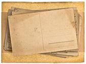 空白のグランジのヴィンテージはがきの背景 — ストック写真