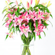 Bouquet of lily flowers — Stock Photo #13512328