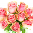 Beautiful roses bouquet — Stockfoto
