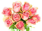 Beautiful roses bouquet — Stock Photo