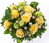 Easter roses bouquet — Stock Photo