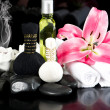 Stock Photo: Spa and wellness concept. thai massage accessories