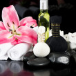 Spa and wellness concept. thai massage accessories - Stock Photo