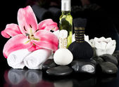Spa and wellness concept. thai massage accessories — Stock Photo