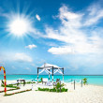 Tropical wedding location — Stock Photo #13762324