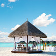 Tropical wedding location. exotic island wedding — ストック写真 #13763411