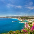 Panoramic view of mediterranean resort, Nice, Cote d — Stock Photo #13763797