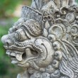 Stock Photo: Traditional balinese statue