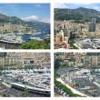 Grand Prix of Monaco, Formul1. panoramic view — Stock Photo #13765786
