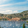 View of luxury resort. French riviera, Mediterranean Sea — Stock Photo