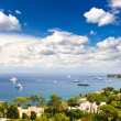 View of luxury resort and bay of Cote d — Stock Photo #13766576