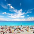 View of beach resort, Nice, France. — Stock Photo #13766596