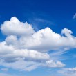 White clouds. perfect blue sky — Stock Photo #13766759