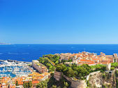 Panoramic view of Monaco — Stock Photo