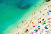 Beach of the Cote d Azur, Villefranche — Stock Photo