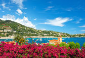 Beautiful mediterranean landscape. french riviera — Stock Photo
