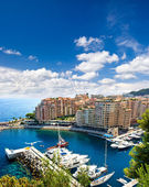 Fontvieille, new district of Monaco — Stock Photo