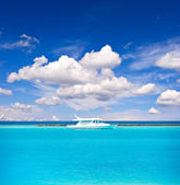 Sea and sky. holiday background — 图库照片
