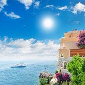 Beautiful mediterranean landscape. — Stock Photo