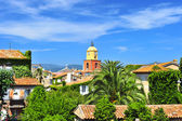Beautiful landscape of Saint Tropez — Stock Photo