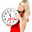 New year 2013. five to twelve — Foto Stock #13860966