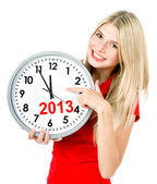 Nieuw jaar 2013. vijf tot twaalf — Stockfoto