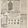 Newspaper page with antique advertisement. france 1919 — Stock Photo #14155441