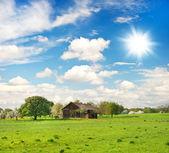 Countryside. european landscape — Stock Photo