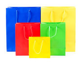 Colorful shopping bags — Stock Photo