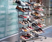 Shoes for sale — Stock Photo