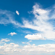 Perfect blue sky — Stock Photo