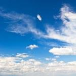 Perfect blue sky — Stock Photo