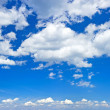 Perfect blue sky with white clouds — Stock Photo #16282653