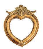 Vintage style antique golden frame — Stock Photo