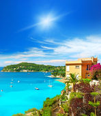 Beautiful mediterranean landscape, french riviera — Stockfoto