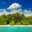 Landscape of tropical island beach — Stock Photo #24435531