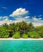热带岛屿海滩风景 — 图库照片