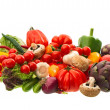 Stock Photo: Raw food ingredients. fresh vegetables