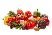 Raw food ingredients. fresh vegetables — Stock Photo
