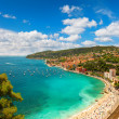 View of luxury resort and bay of Cote d'Azur in France — Stock Photo #25978415