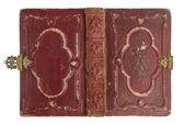 Cubierta de libro antiguo con decoración vintage — Foto de Stock