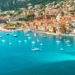 Luxury resort Villefranche, french riviera, Provence — Stock Photo #26459329
