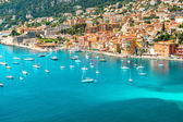 Luxury resort Villefranche, french riviera, Provence — Stock Photo