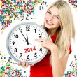 New year 2014 — Foto de stock #31215933