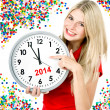 Foto Stock: New year 2014