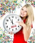 Nieuwe jaar 2014 — Stockfoto