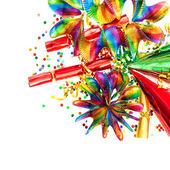 Festive decoration background — Stock Photo